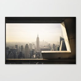 E is for Empire Canvas Print