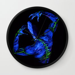 Lightening Wall Clock