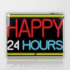 Happy 24 hours Laptop & iPad Skin