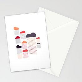 raining pleasure Stationery Cards