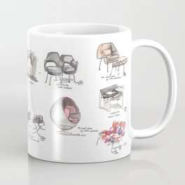 Classic Chair Designs Coffee Mug