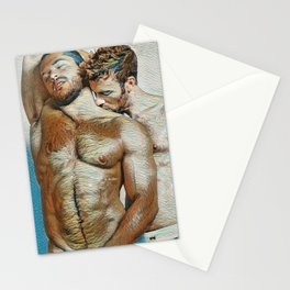 Kiss on the Neck Stationery Cards