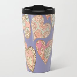 Corazones Travel Mug