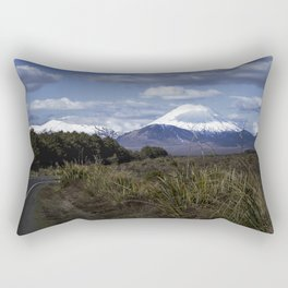 Ngauruhoe on a Fine Day Rectangular Pillow