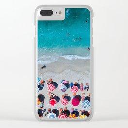 Albanian beach #society6 #buyart Clear iPhone Case