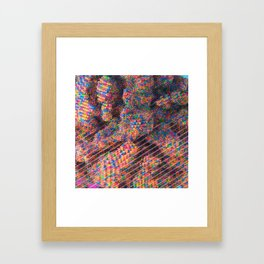 Explosive Popcorn Gum (Bigger) Framed Art Print