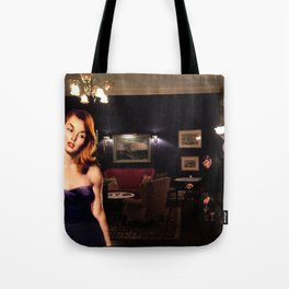 I See You're Drinking Alone Tote Bag