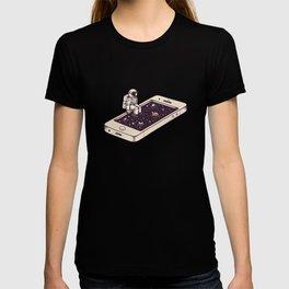 Dip in T-shirt