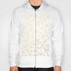Ab Outline White Gold Hoody