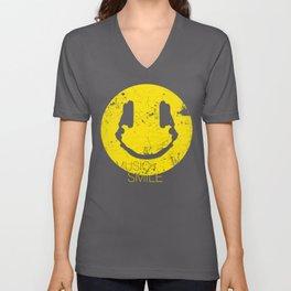 Music Smile Unisex V-Neck