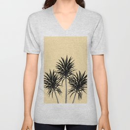 Palm Trees - Cali Summer Vibes #6 #decor #art #society6 Unisex V-Neck