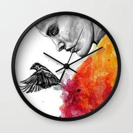 Goodbye depression Wall Clock