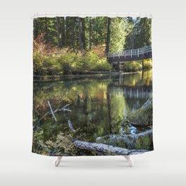 Fall at Clear Lake, No. 2 Shower Curtain