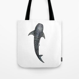 Whale shark for divers, shark lovers and fishermen Tote Bag
