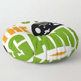 Let's play the game Gamer gift  for 2020 and 2021 Floor Pillow