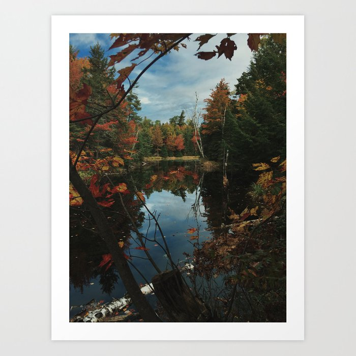 New York Fall Art Print