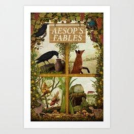 Aesop's Fables Art Print