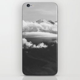 Volcano Misti in Arequipa Peru Covered with Clouds iPhone Skin