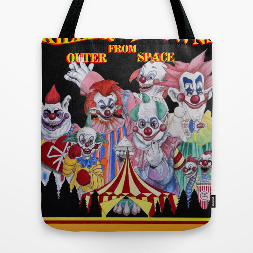 Killer Klowns From Outer Space Tote Bag by Wkeithpatrick TBG6643767
