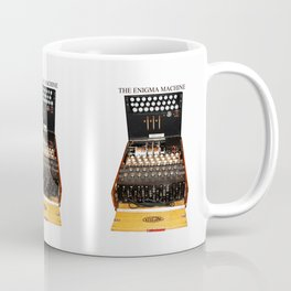 The Secret Code Machine enigma Coffee Mug
