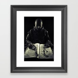 the avenger monk Framed Art Print