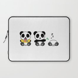 Three Little Pandas Laptop Sleeve