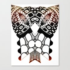 Sea Shell Creature Collection Canvas Print