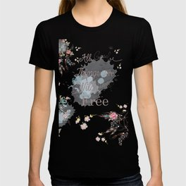 Boho stylish design. All good things are free and wild T-shirt