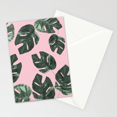 Summer Leaves Stationery Cards