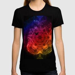 Flying through an alien landscape T-shirt