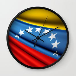 Flag of Venezuela Wall Clock