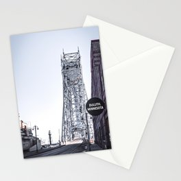 Duluth Minnesota and Lift Bridge Stationery Cards