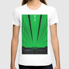 New York - Silent City Series  T-shirt