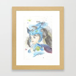 League of Legends - Vayne Watercolour Framed Art Print