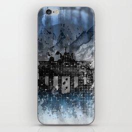 Graphic Art BERLIN Brandenburg Gate iPhone Skin