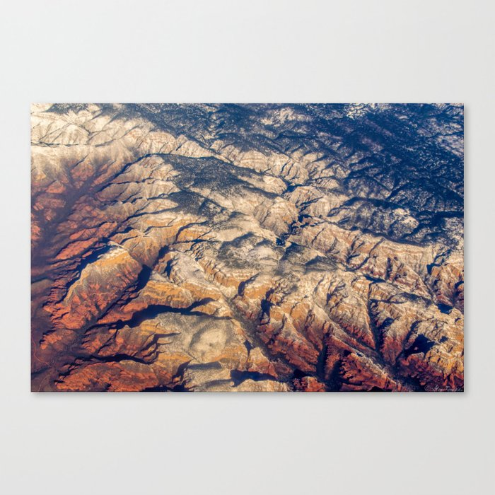 Mars or Earth Canvas Print
