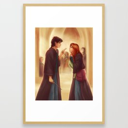 """I'd Just As Soon Kiss The Giant Squid!"" Framed Art Print"