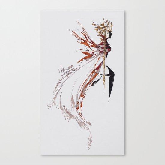 AUTUMN QUEEN Canvas Print