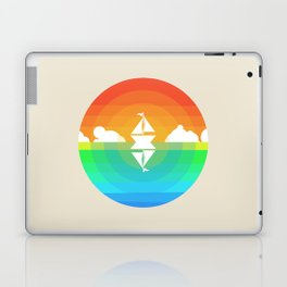 Sunset Sailing Laptop & iPad Skin