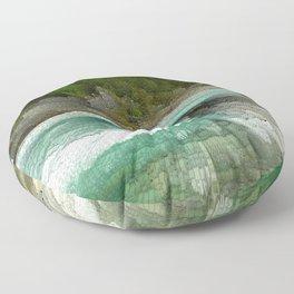 Abstract Landsape Floor Pillow