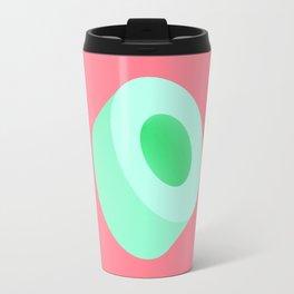 Green Tube Travel Mug