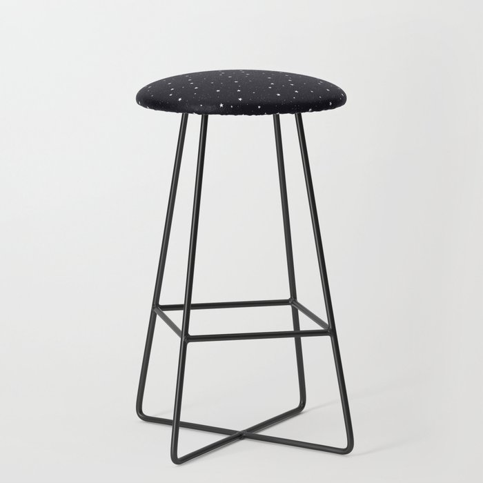 stars pattern Bar Stool