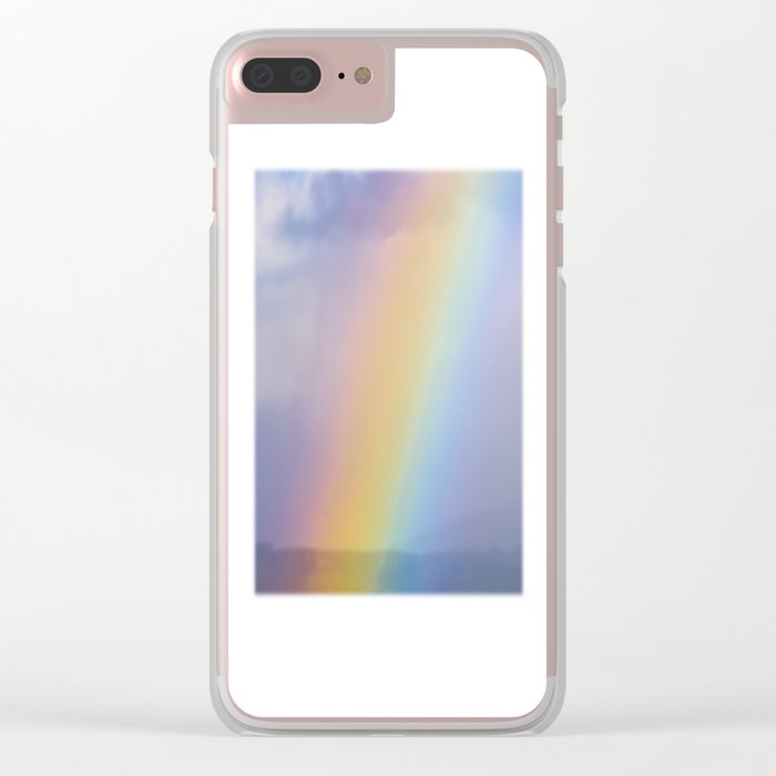 Inside the Rainbow Clear iPhone Case