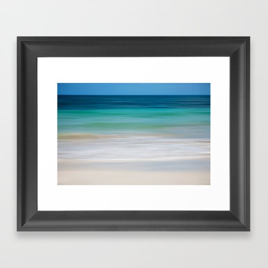SEA ESCAPE Framed Art Print