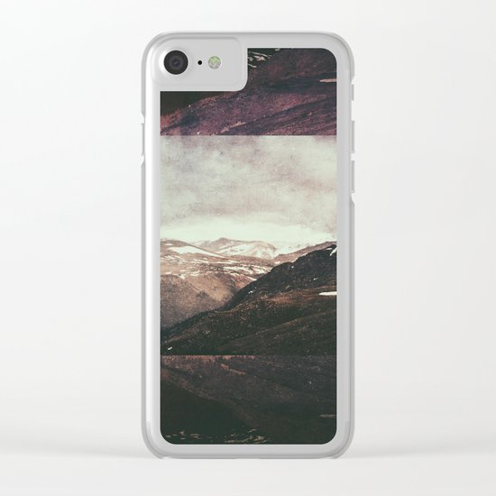 Fractions A56 Clear iPhone Case