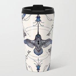 Pollinators Metal Travel Mug