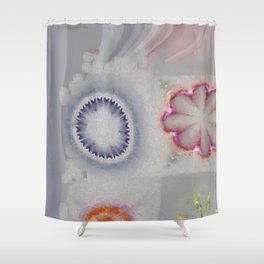 Pailful Disposition Flower  ID:16165-040203-89270 Shower Curtain