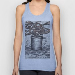Waves of Roasted Goodness Unisex Tank Top