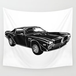 Trans Am Muscle Car Wall Tapestry