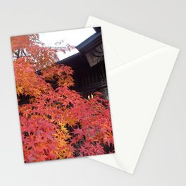Fall Colors in Kakunodate Stationery Cards